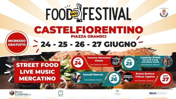 Food Festival Castelfiorentino 2021