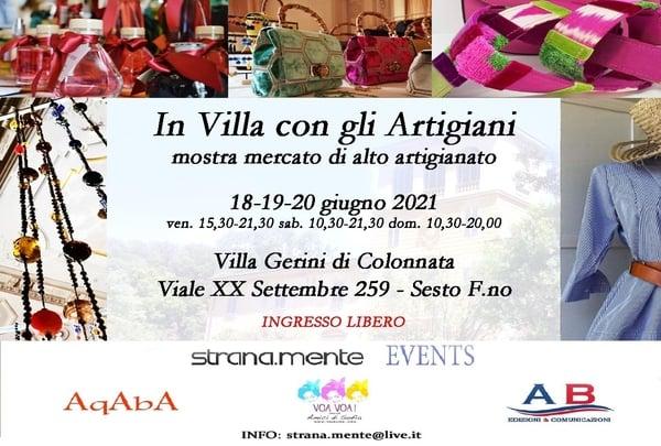 In Villa con gli Artigiani Sesto Fiorentino