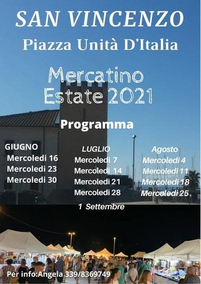 Mercatini San Vincenzo Estate 2021