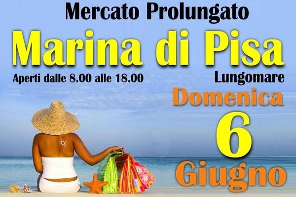 Mercato Marina di Pisa Lungomare