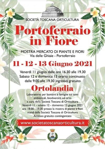 Portoferraio in fiore 2021 Elba