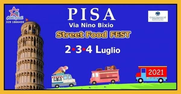 Street Food Fest Pisa 2021