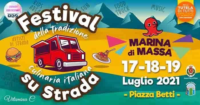 Festival su Strada a Marina di Massa 17-18-19 Luglio 2021