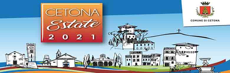 Programma Eventi a Cetona per l'Estate 2021
