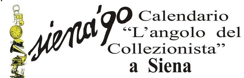 Angolo del Collezionista Siena 90