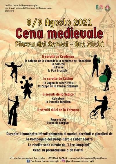 Cena Medievale Roccatederighi 2021