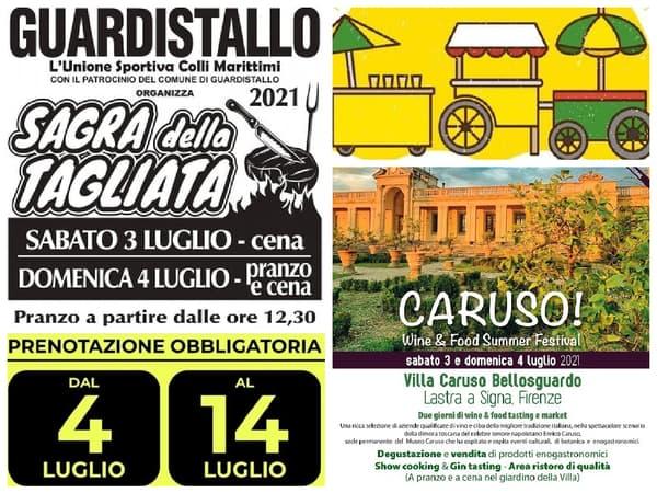 Eventi Toscana Weekend 2 3 4 Luglio