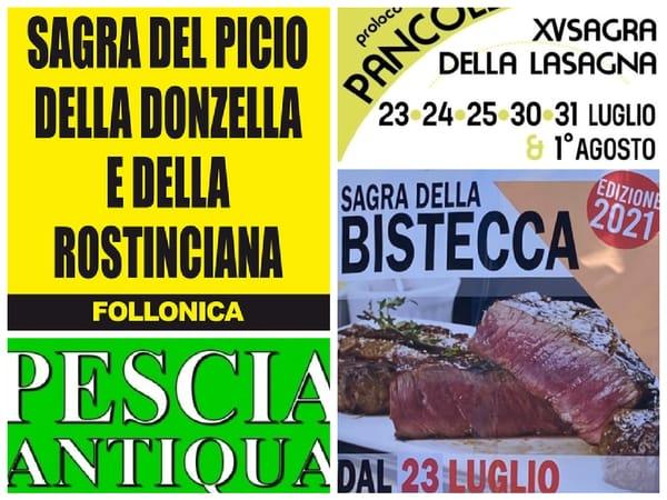 Eventi Toscana Weekend 23 24 25 Luglio 2021