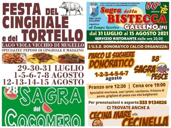 Eventi Toscana Weekend 30 31 Luglio 1 Agosto