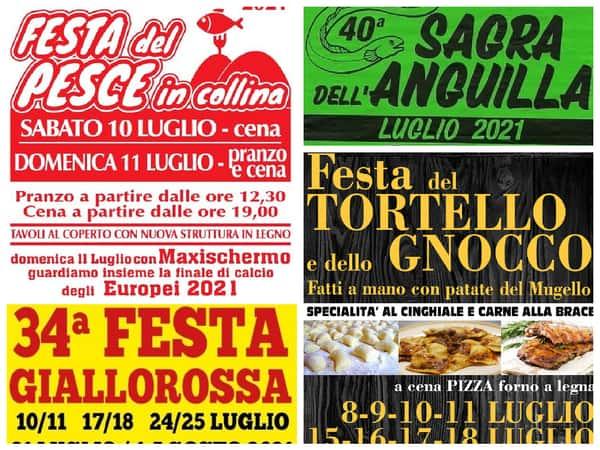 Eventi Toscana Weekend 9 10 11 luglio