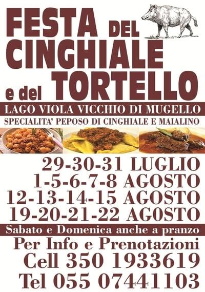 Festa Cinghiale Tortello Vicchio 2021