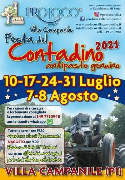 Festa del Contadino Villa Campanile 2021