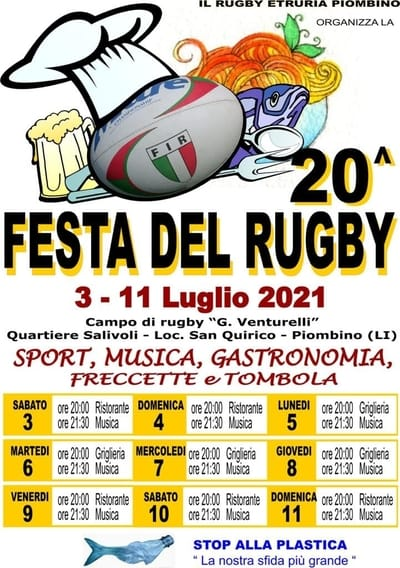 Festa del Rugby Piombino 2021