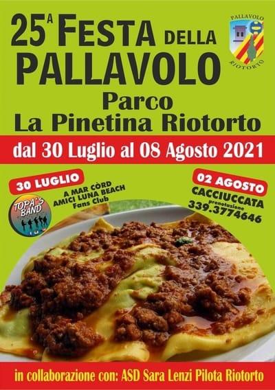 Festa Pallavolo Riotorto 2021