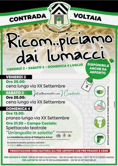 Festa Pici Lumacci 2021