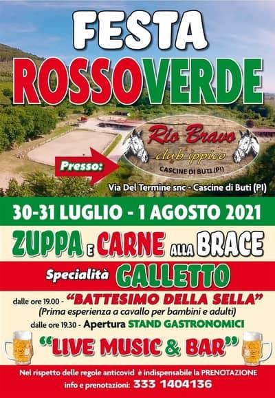 Festa Rossoverde Cascine di Buti 2021