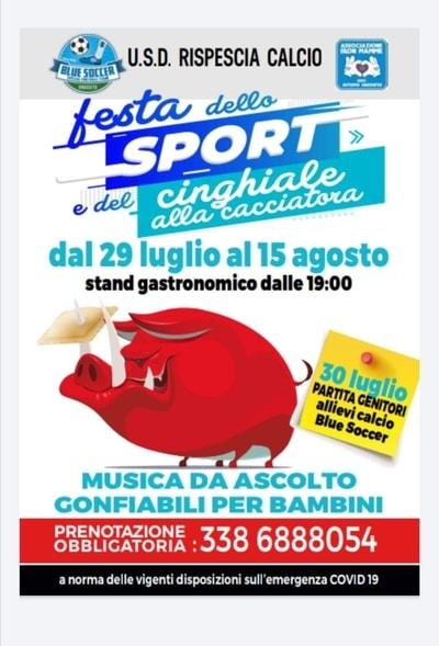 Festa Sport Cinghiale Rispescia 2021
