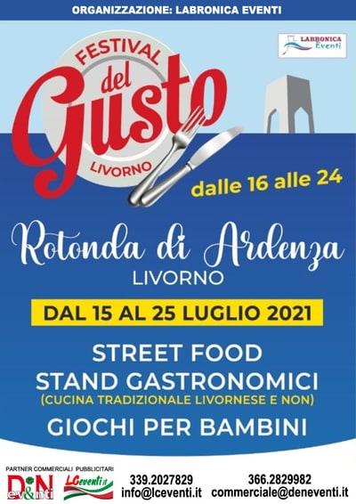 Festival del Gusto Livorno 2021