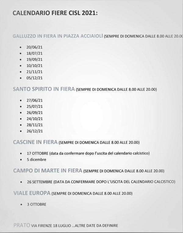 Fiere Firenze 2021