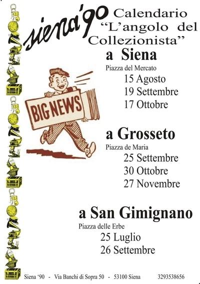 Mercatini Collezionismo Toscana 2021