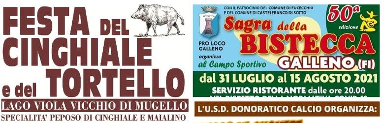 Mercatini Toscana Domenica 1 Agosto 2021