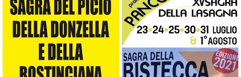 Mercatini Toscana Domenica 25 Luglio 2021