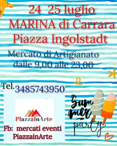 Mercatino Marina di Carrara Luglio 2021