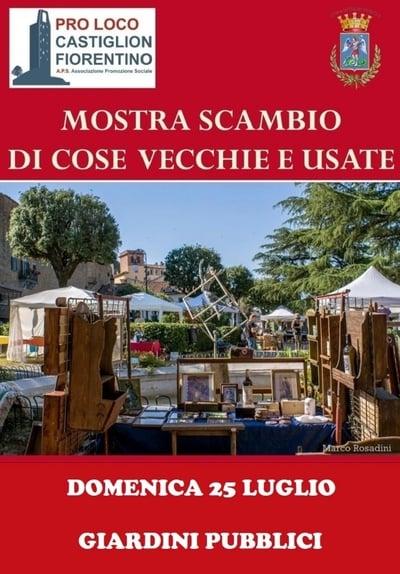 Mercato Castiglion Fiorentino Luglio 2021