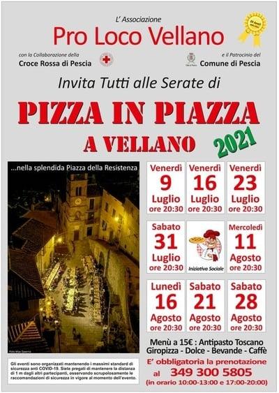 Pizza in Piazza Vellano 2021