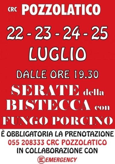 Sagra Bistecca Pozzolatico 2021