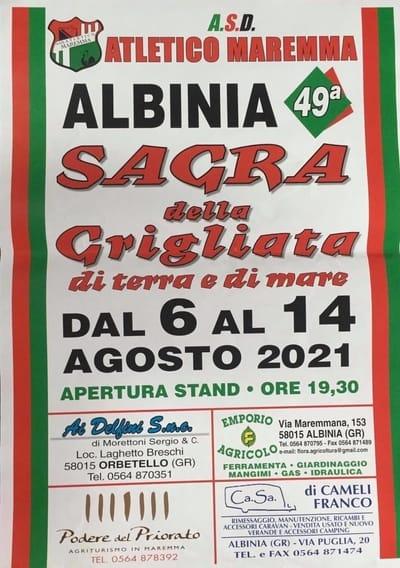 Sagra Grigliata Albinia 2021