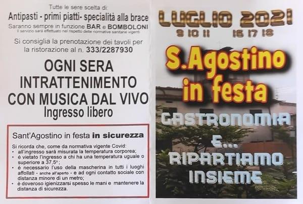 Sant'Agostino in Festa Pistoia 2021