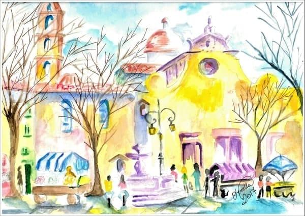 Santo Spirito in Fiera Firenze Luglio