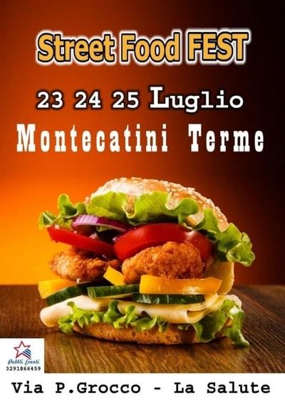 Street Food Fest Montecatini Luglio