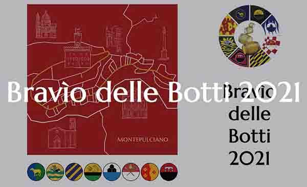 Bravio delle Botti 2021 a Montepulciano