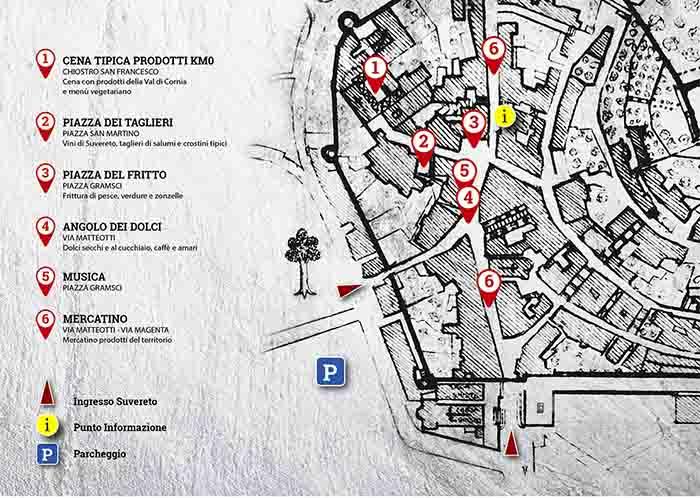 Centro Suvereto Sapori tra le Mura a Suvereto 20-21-22 Agosto 2021