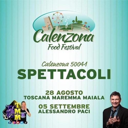 Calenzona Food Festival 2021 Carraia