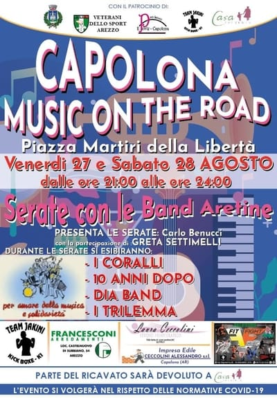 Capolona Music On The Road
