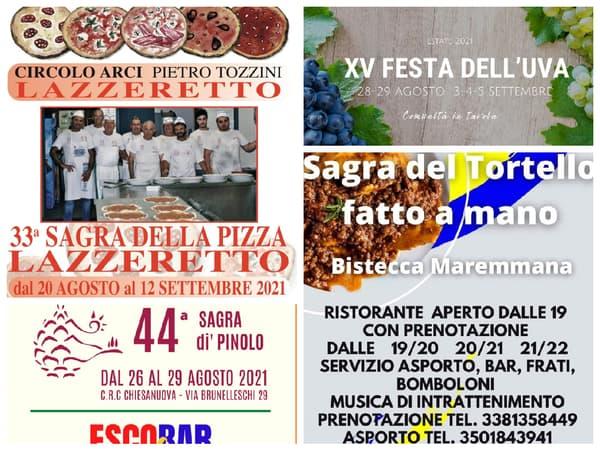 Eventi Toscana Weekend 27 28 29 Agosto 2021