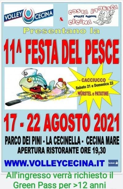 Festa del Pesce 2021 Cecina Mare
