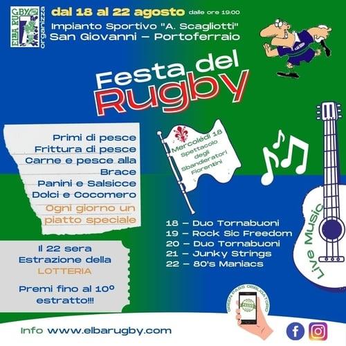 Festa del Rugby Portoferraio 2021