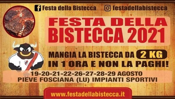 Festa della Bistecca Pieve Fosciana 2021