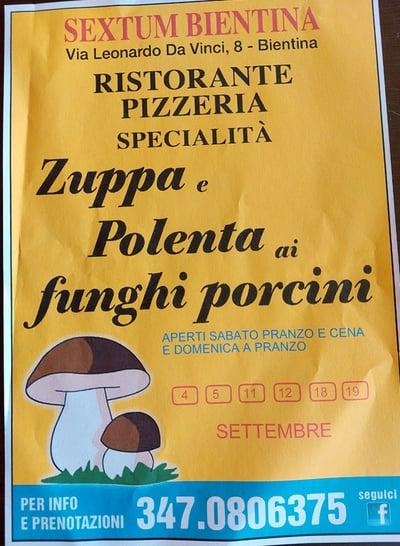Festa della Zuppa Bientina 2021