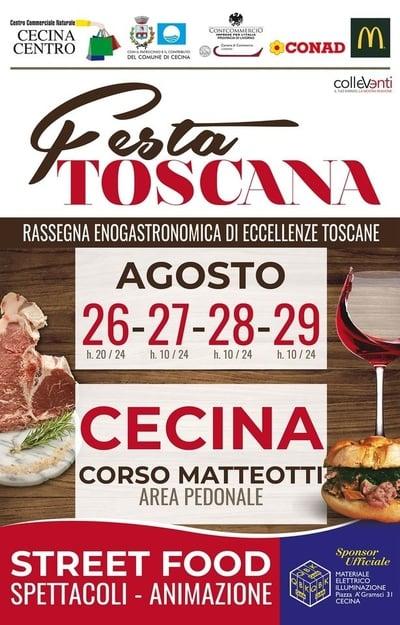 Festa Toscana Cecina 2021