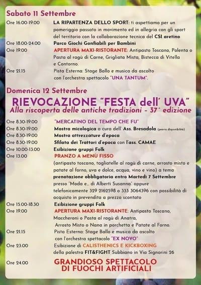 Feste Toscana Settembre 2021