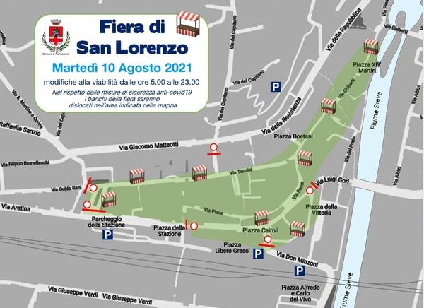 Fiera San Lorenzo Pontassieve 2021