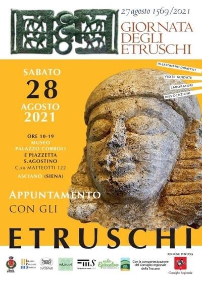 Giornata degli Etruschi Asciano 2021