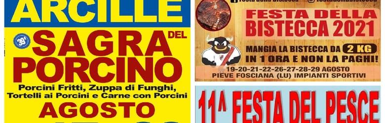 Mercatini Toscana Domenica 22 Agosto