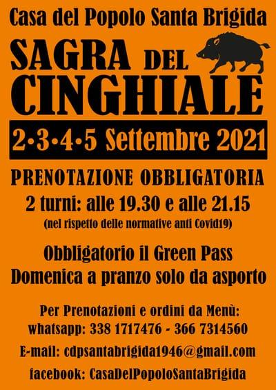 Sagra Cinghiale Santa Brigida 2021
