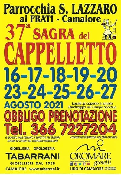 Sagra del Cappelletto Camaiore 2021